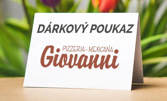 Dárkový poukaz Giovanni
